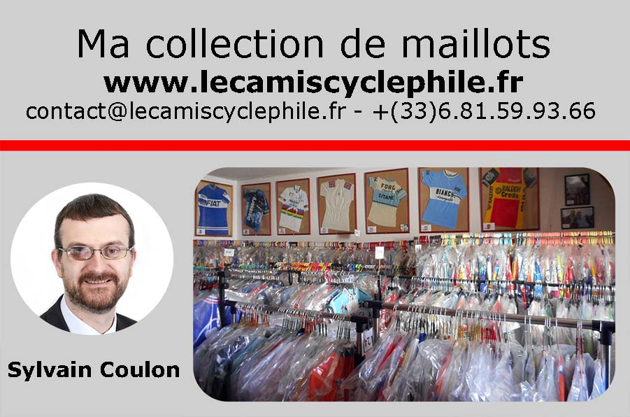 Sylvain Coulon - camiscyclephile - www.lecamiscyclephile.fr - Collection de maillots cyclistes